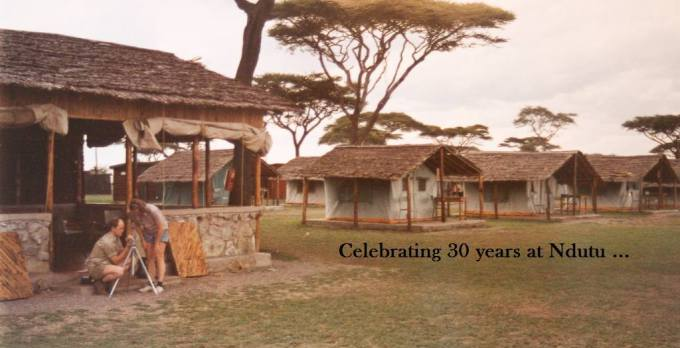 Celebrating 30 years at Ndutu